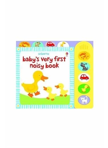 The Usborne The Usborne  Baby's Very First Noisy Book Beyaz